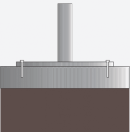 Bolt-Down Base (or surface plate)
